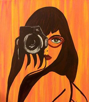 Painting - Shutterbug by Surbhi Grover