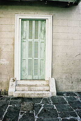 Photograph - Shuttered Doors by Heather Green