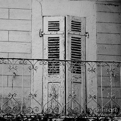 Carol Arnold Wall Art - Photograph - Shutters by Carol Arnold