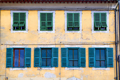 Photograph - Shutters by Mick House