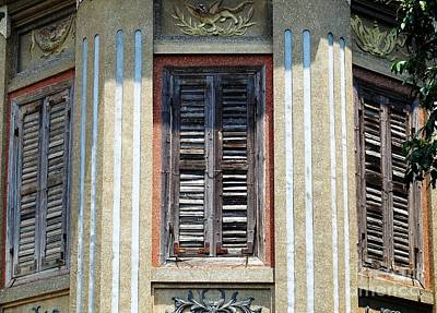Photograph - Shutters Of The Golden Melon by Ethna Gillespie