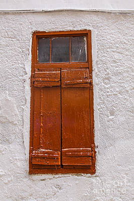 Photograph - Shutters by Patricia Hofmeester