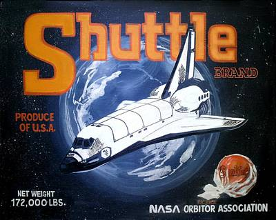 Shuttle Brand Print by Ric Rice