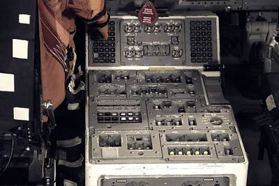 Photograph - Shuttle Controls by Dan Sproul