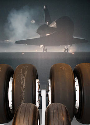 Photograph - Shuttle Tires by David Nicholls