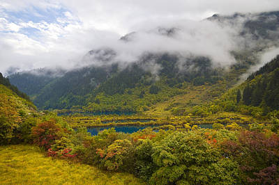 Photograph - Shuzheng Lakes by Ng Hock How