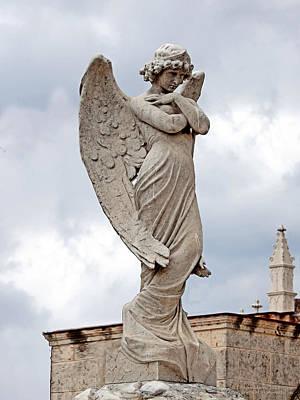 Angel Photograph - Shy Angel by Terry Reynoldson