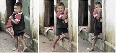 Photograph - Shy Boy by Nina Donner