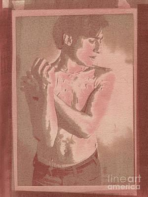 Wall Art - Photograph - Shy by Ellen Moore Osborne