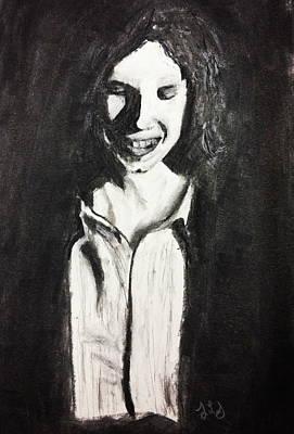 Shy Art Print by Jessica Sanders