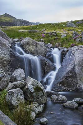 Photograph - Siabod Waterfall by Ian Mitchell