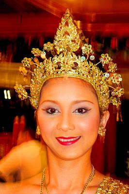 Siam Dancer. The Kingdom Of Thailand. Original by Andy Za