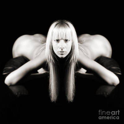 Female Photograph - Siamese Mermaid 1 by Jochen Schoenfeld