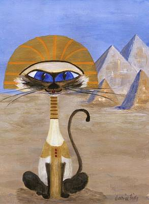 Painting - Siamese Queen Of Egypt by Jamie Frier