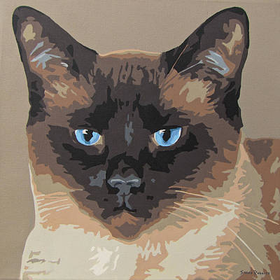 Painting - Siamese by Slade Roberts