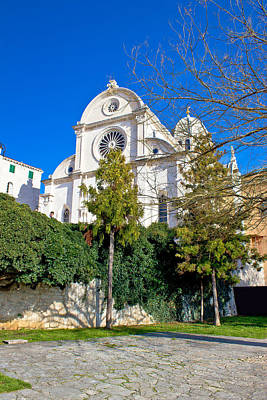 Photograph - Sibenik Cathedral Unesco World Heritage Site by Brch Photography