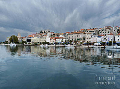 Photograph - Sibenik Waterfront - Croatia by Phil Banks