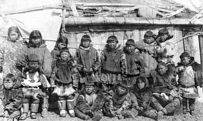 Photograph - Siberia Eskimos, C1897 by Granger