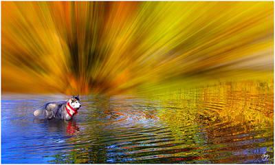 Photograph - Siberian Firestorm by Wayne King
