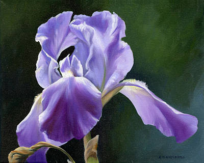 Painting - Siberian Iris by Alecia Underhill