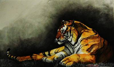 Painting - Siberian Majesty by Dana Newman