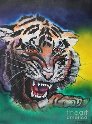Painting - Siberian Tigers by Bob Williams