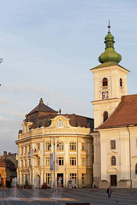 Romania Photograph - Sibiu, Hermannstadt In Transylvania by Martin Zwick