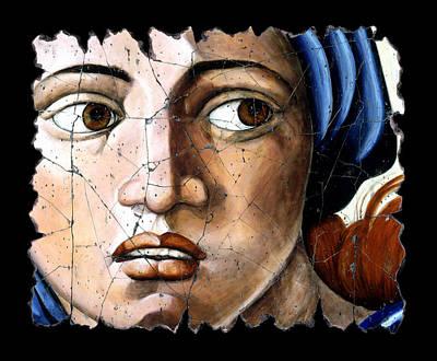 Bogdanoff Painting - Sibyl Of Delphi by Steve Bogdanoff