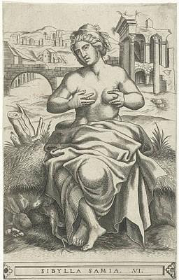 Sibyl Of Samos, Frans Huys Art Print