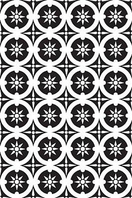 Drawing - Sicilian Historic Pattern by Ticky Kennedy LLC