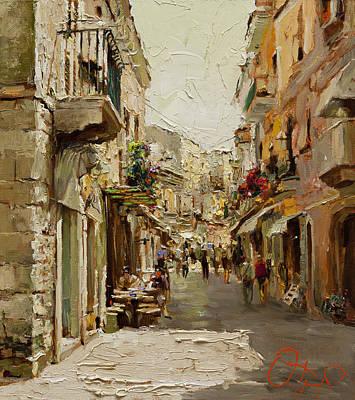 Sicilian Noon Print by Oleg Trofimoff