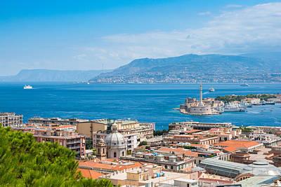 Photograph - Sicily And Italy by Gurgen Bakhshetsyan