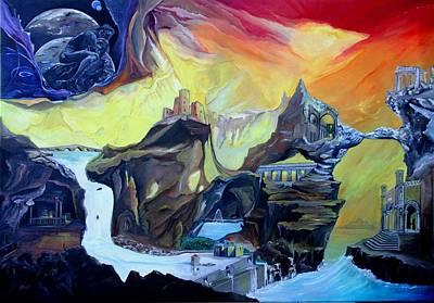 Sicily Painting - Sicily by Daniela Giordano
