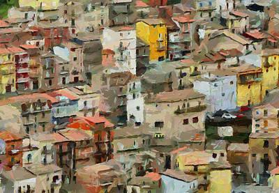 Sicily Digital Art - Sicily Italy 2 by Yury Malkov