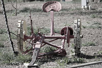 Photograph - Sickle Mower by Trent Mallett