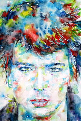 Bassist Painting - Sid Vicious by Fabrizio Cassetta