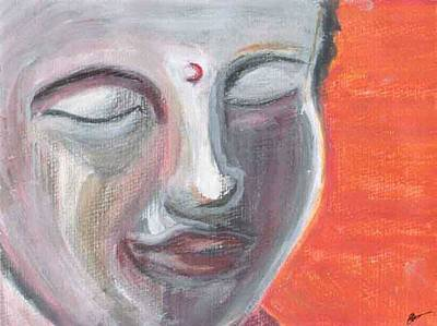 Siddharta Painting - Siddharta by Michelle Foster