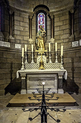 Photograph - Side Altar by Maria Coulson