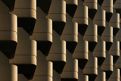 Pattern Photograph - Side By Side by Hans-wolfgang Hawerkamp