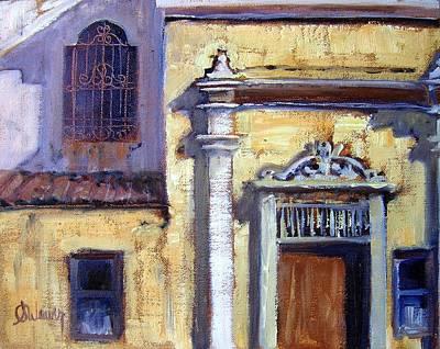 Side Door At The Rialto Theatre Original