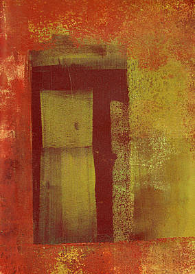 Painting - Side Door by Buck Buchheister