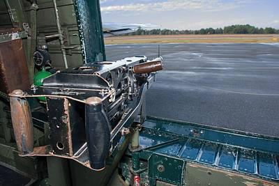 Photograph - Side Gunner B-24 Liberator  by John Black