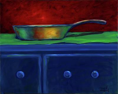 Painting - Side Iron by Shannon Grissom