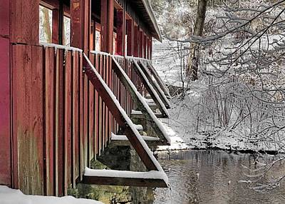 Photograph - Side Of Covered Bridge by Janice Drew