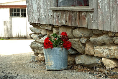 Photograph - Side Of The Barn by Nancy Greenland