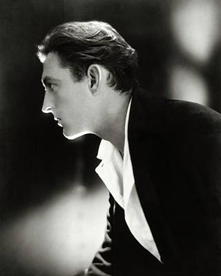 Look Away Photograph - John Barrymore In Profile by Adolphe De Meyer