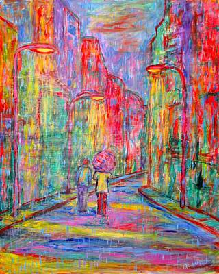 Painting - Side Street by Kendall Kessler