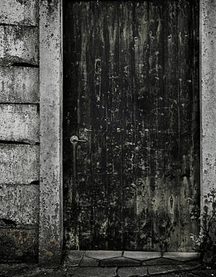 Old Door Photograph - Side Street by Odd Jeppesen
