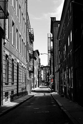 Photograph - Side Street On The North End by Nadalyn Larsen