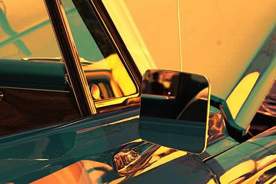 Digital Art - Side View Mirror by Audreen Gieger